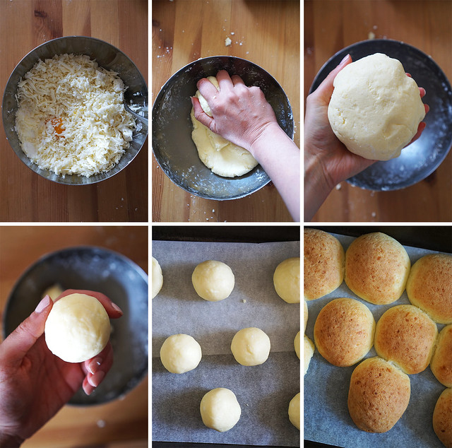 How to make pandebonos / gluten free cheese bread from scratch, step by step guide