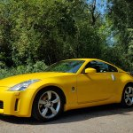 Sold Sold Nissan 350z Gt4 163 176 Yellow 2005 Zeds For Sale 350z 370z Uk