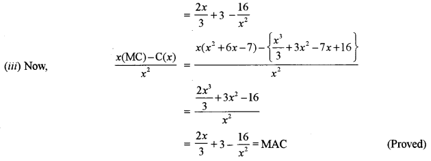 ISC Class 12 Maths Previous Year Question Papers Solved 2011 Q14.2