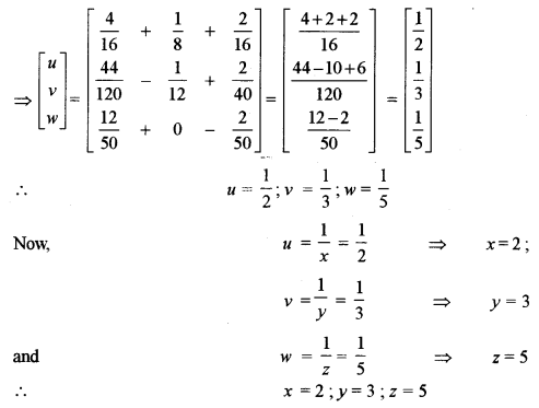 ISC Class 12 Maths Previous Year Question Papers Solved 2011 Q2.5