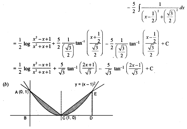 ISC Class 12 Maths Previous Year Question Papers Solved 2011 Q5.2