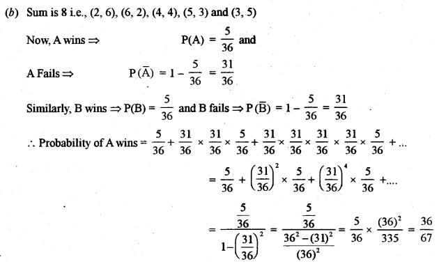 ISC Class 12 Maths Previous Year Question Papers Solved 2011 Q8.1