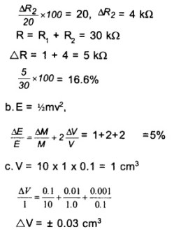 HSSlive Plus One Physics Chapter Wise Questions and Answers 13