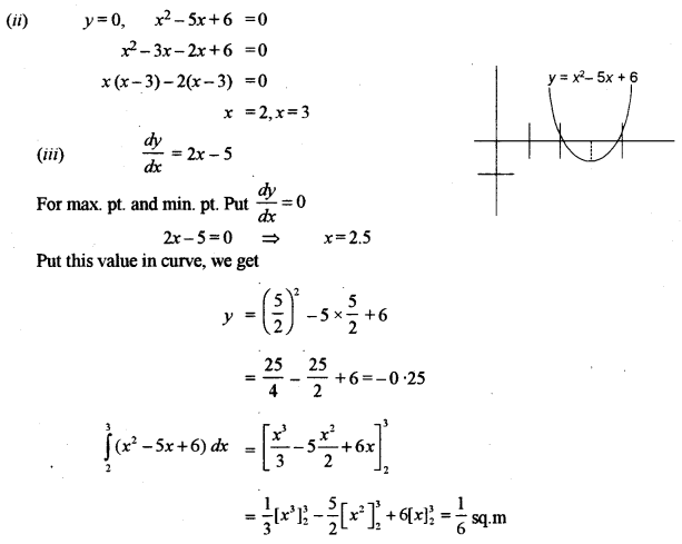 ISC Class 12 Maths Previous Year Question Papers Solved 2010 Q6.2