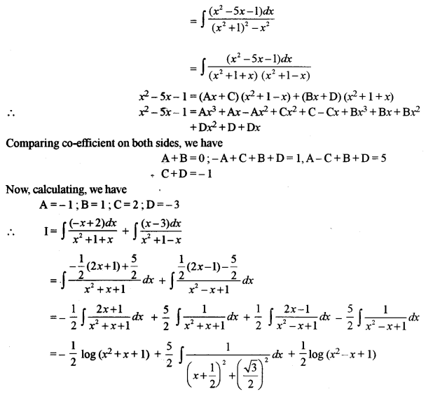 ISC Class 12 Maths Previous Year Question Papers Solved 2011 Q5.1