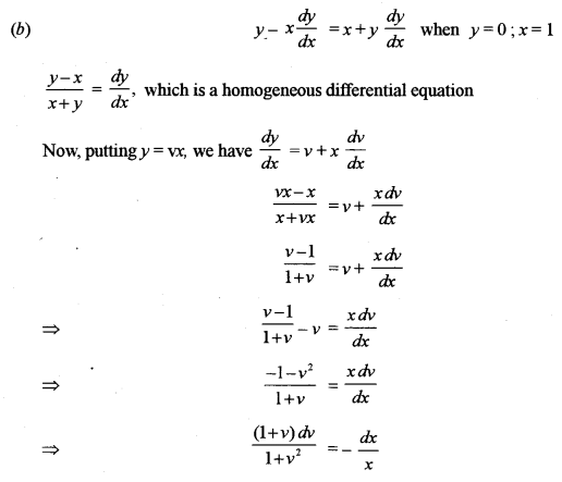 ISC Class 12 Maths Previous Year Question Papers Solved 2011 Q9.1