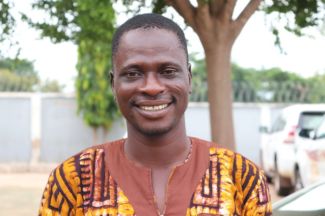 Adam Inusah, one of the farmers working with Africa RISING in Chehoyi No.2 Community in Northern Region, Ghana. Photo credit: Wilhelmina Ofori-Duah-Duah/IITA.