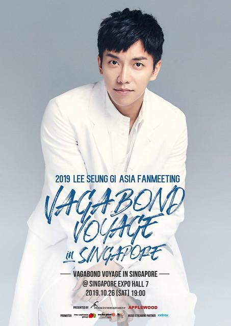 Lee Seung Gi 'Vagabond Voyage' Asia Fanmeeting in Singapore