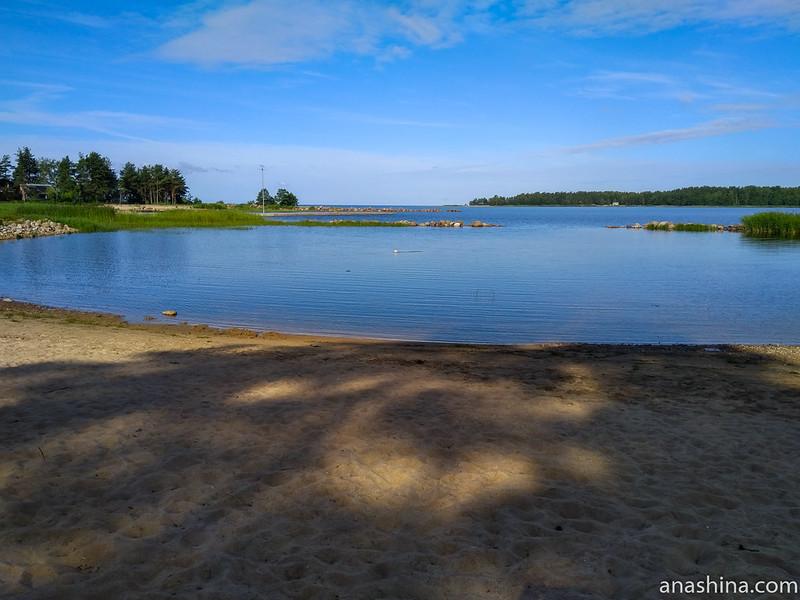 """Финский залив, база отдыха """"Окуневая"""""""