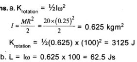 HSSlive Plus One Physics Chapter Wise Questions and Answers Chapter 7 Systems of Particles and Rotational Motion 26