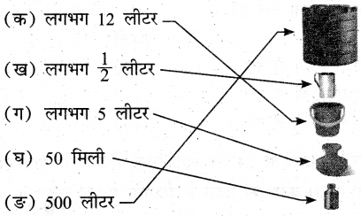 UP Board Solutions for Class 3 Maths गिनतारा Chapter 13 धारिता