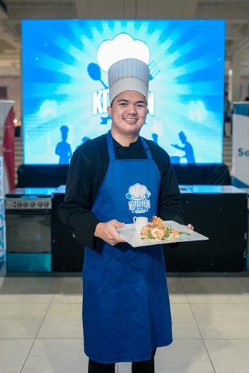 Solane Kitchen Hero NCR leg winner Wilfredo Penafiel