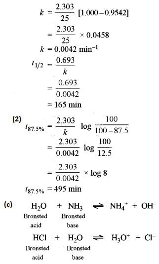 ISC Chemistry Question Paper 2016 Solved for Class 12 Q3.4