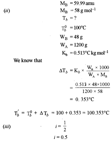 ISC Chemistry Question Paper 2016 Solved for Class 12 Q2.1