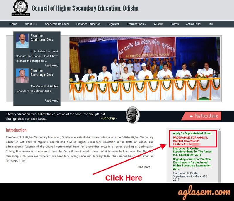 Odisha Board Exam Date 2020