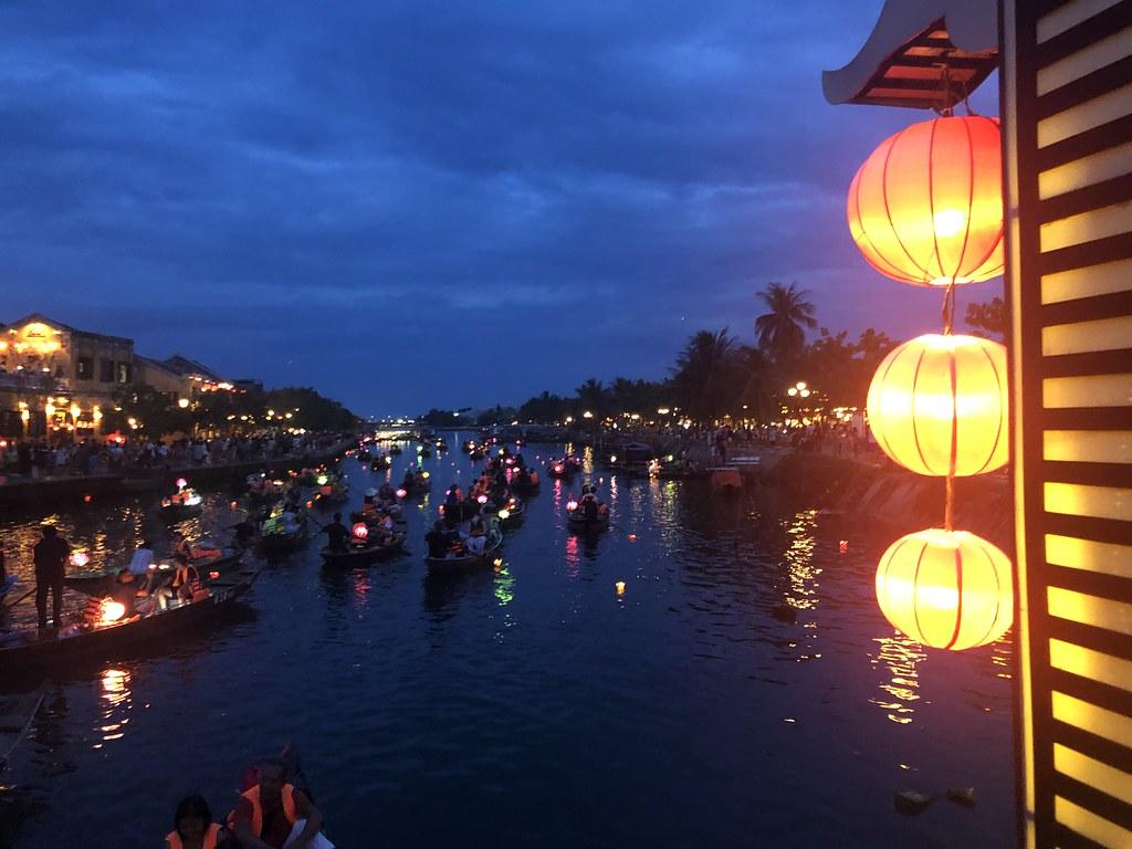 Lantern Boat Ride in Hoi An