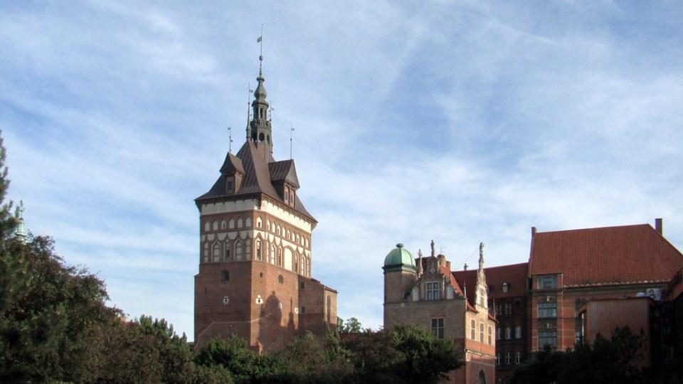 edificio Museo del ámbar y antigua Torre de Prision y Casa de Tortura Gdansk Polonia 44