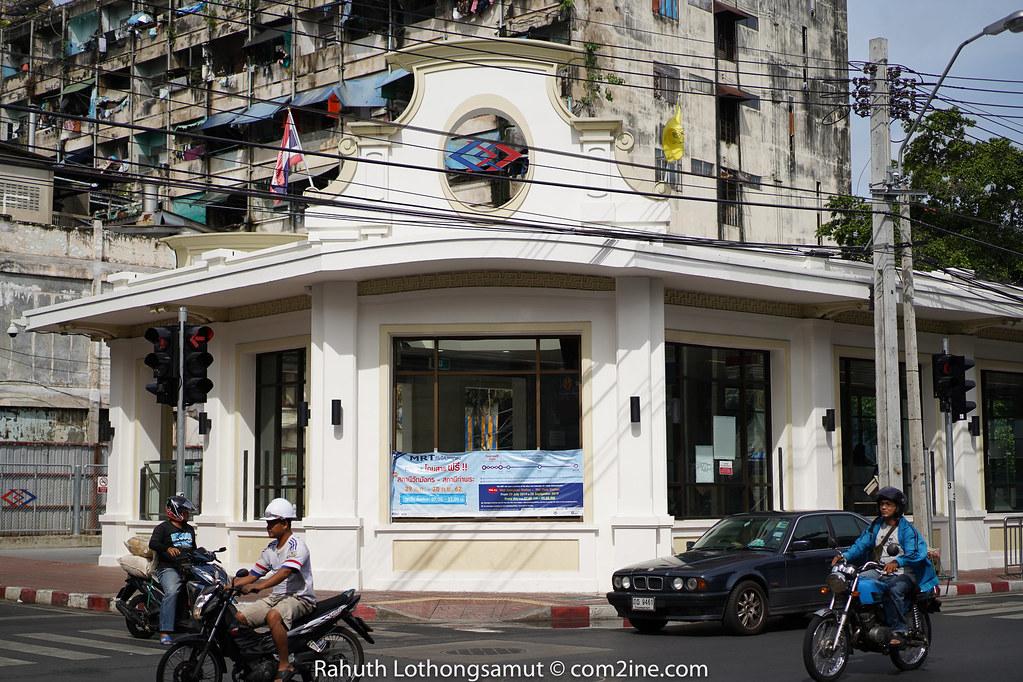 Exterior MRT Wat Mangkon - สถานีวัดมังกร