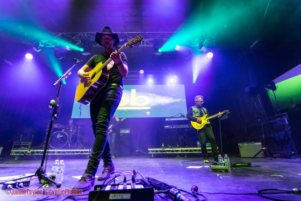 Canadian country musician Paul Brandt performing at Summerset Music & Arts Festival at Fort Langley in Langley, BC on September 1st, 2019