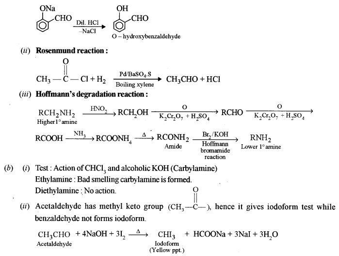 ISC Chemistry Question Paper 2015 Solved for Class 12 Q9.1