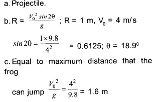 HSSlive Plus One Physics Chapter Wise Questions and Answers Chapter 4 Motion in a Plane 32