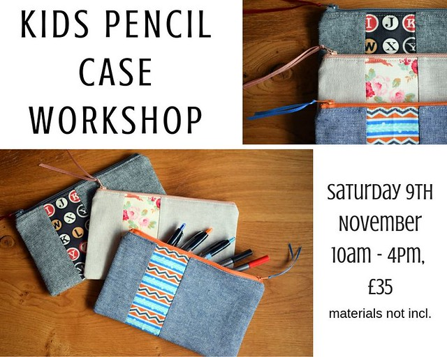 Kids Pencil Case workshop