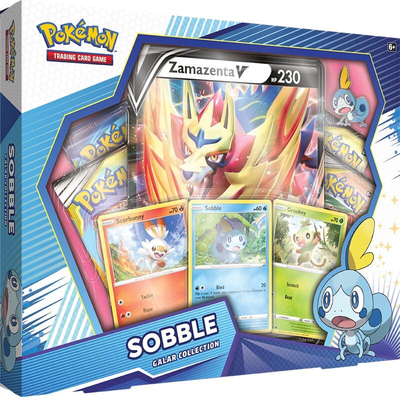 Pokémon TCG Galar Collection Sobble + Zamazenta Box Shot