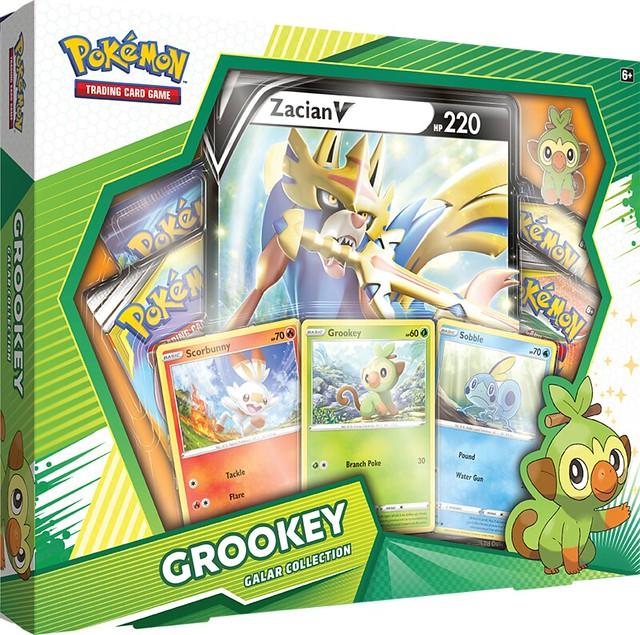 Pokémon TCG Galar Collection Grookey + Zacian Box Shot