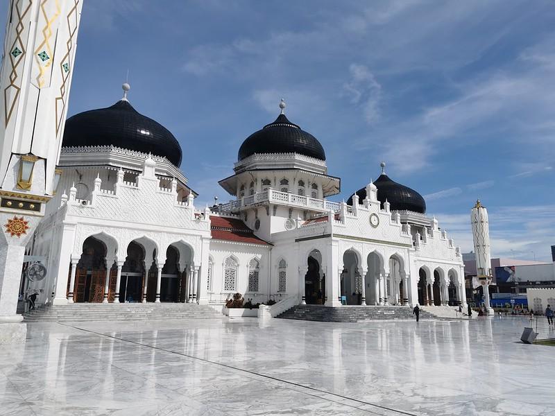 baiturrahman grand mosque banda aceh