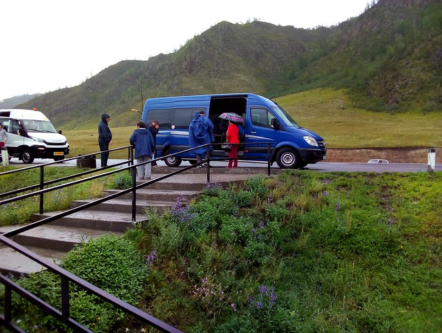That's the bus that took us from Gorno Altaysk to Tyungur by bryandkeith on flickr