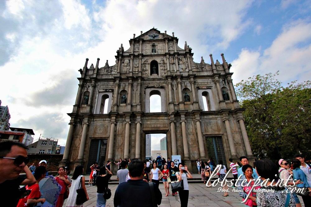 Ruins of St. Paul's 大三巴牌坊 | Macau, China