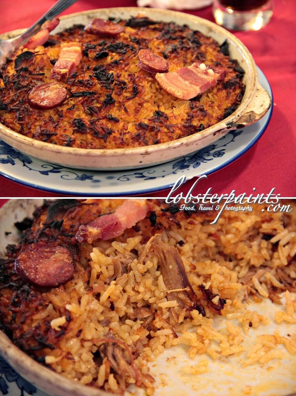 Portuguese Duck Rice @ O'Manuel Cozinha Portuguesa 阿曼諾葡國餐 | Macau, China