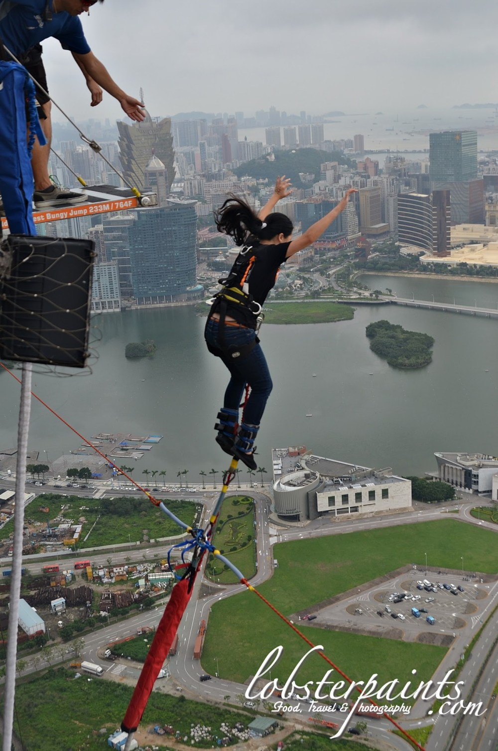 Bungy Jump @ Macau Tower | Macau, China