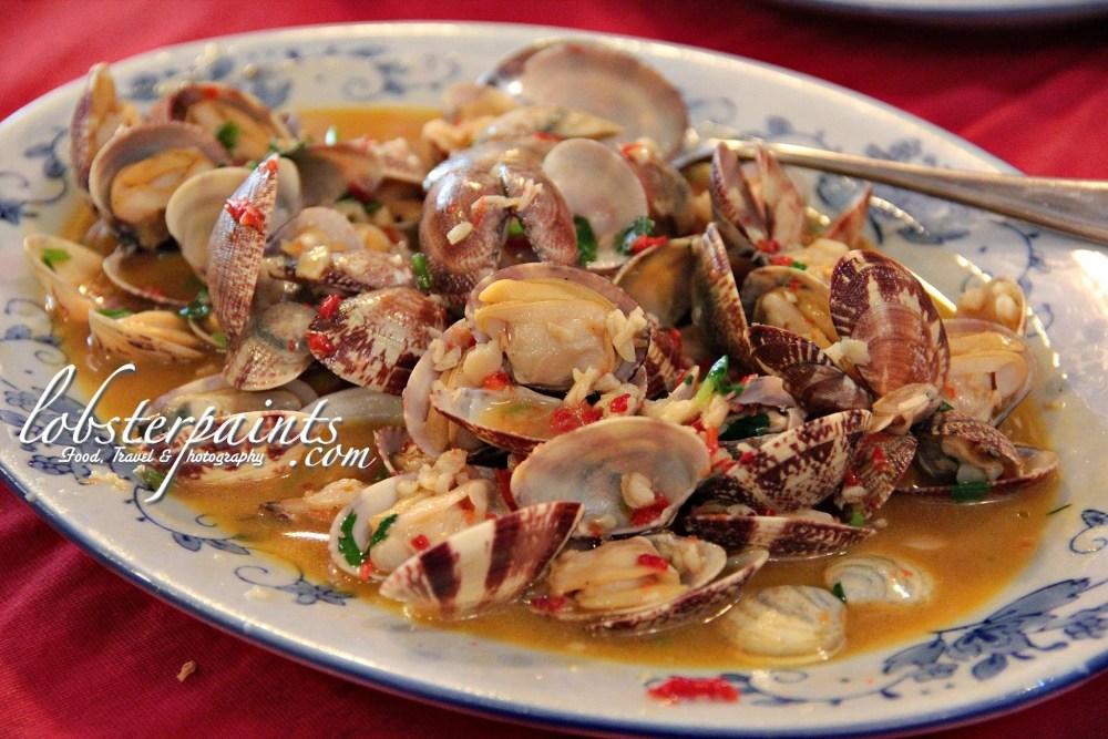 Clams in White Wine & Lemon Sauce @ O'Manuel Cozinha Portuguesa 阿曼諾葡國餐 | Macau, China