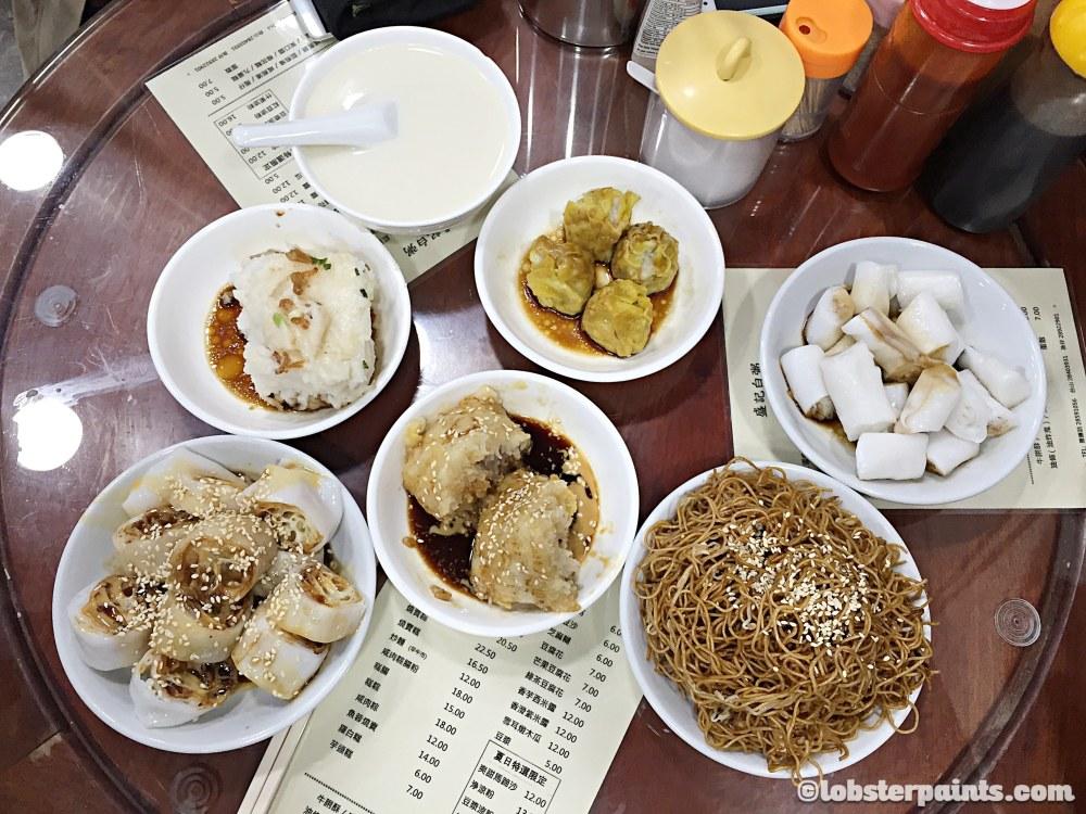 Breakfast at 盛記白粥