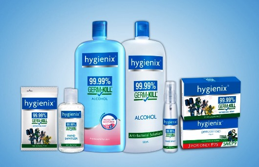 Hygienix Products Maine Mendoza Shower Rangers