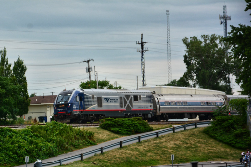 Amtrak through Michigan City