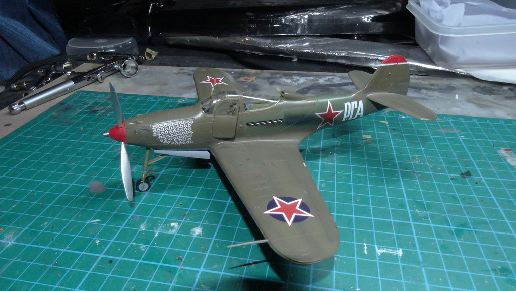 Who put the engine in the back? P-39 from USSR - Ready for Inspection - Aircraft - Britmodeller.com