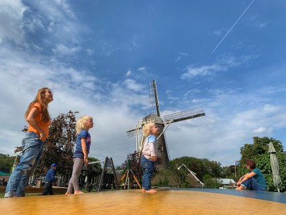 Tuesday morning fun at the typical dutch playground (sept 2019)