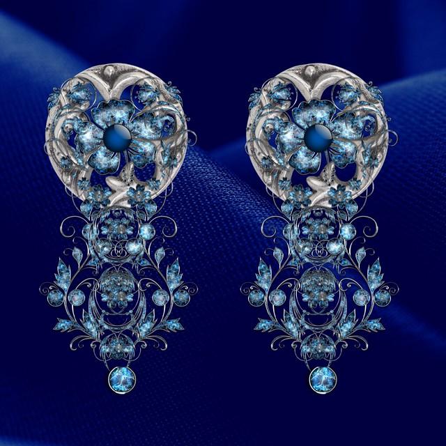 Bluetooth earrings