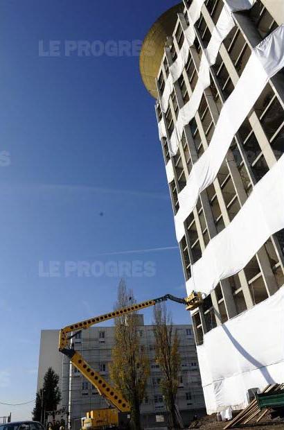 Muraille De Chine Saint Etienne : muraille, chine, saint, etienne, Saint-Étienne.C'était, L'emblématique, Plein, De…, Flickr