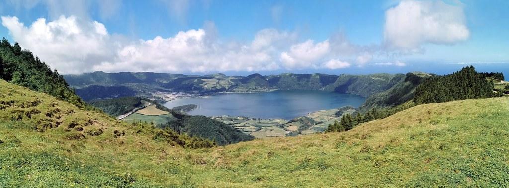 Mirador da Boca do Inferno Lagoa das Sete Cidades Lagoa Azul y Verde Serra Devassa Isla de San Miguel Azores Portugal 04