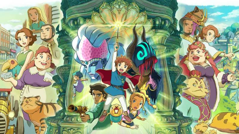 Ni no Kuni: Wrath of the White Witch on PS4
