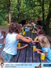 ÖVP Familiensommer 2019 - Kreatives Arbeiten im Wald