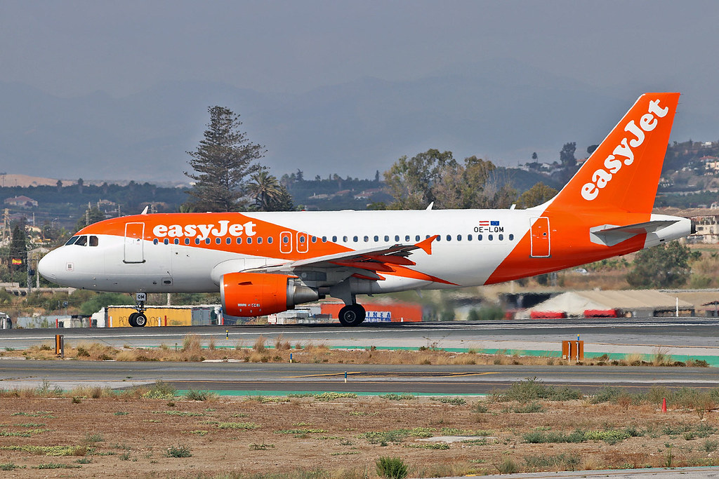 OE-LQM Airbus A.319-111 easyJet Europe AGP 25-08-19 | Flickr