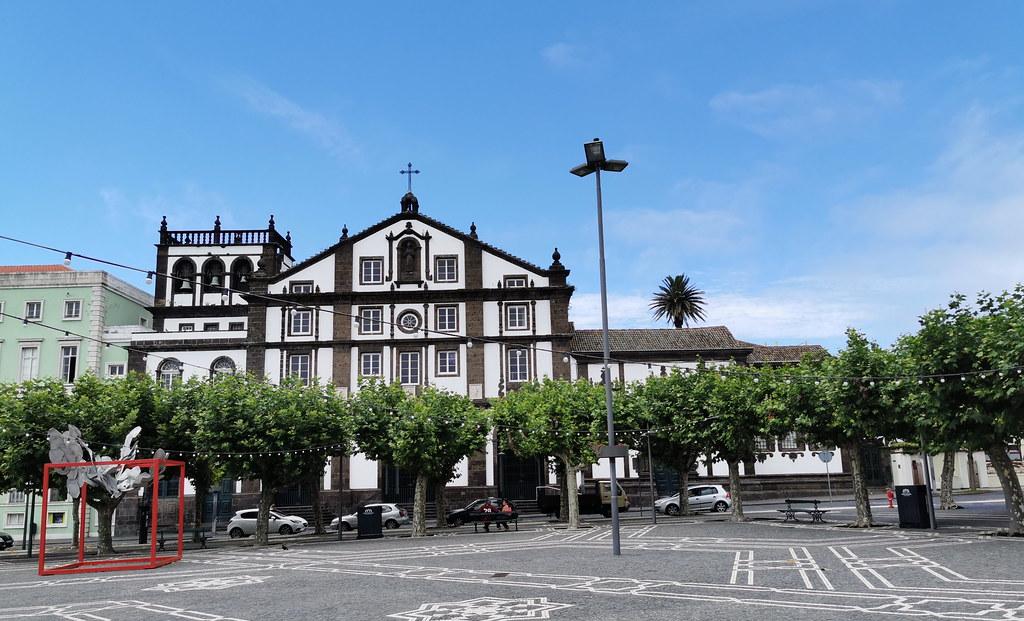 Iglesia de San Jose Ponta Delgada Isla San Miguel Azores Portugal
