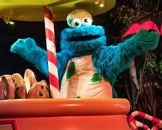 Cookie Monister in Sesame Street Halloween Parade