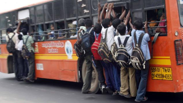 A Journey In An Overcrowded Bus Essay