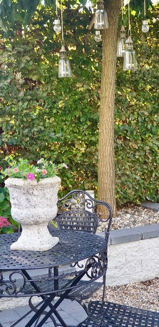 Landelijke klassieke tuin