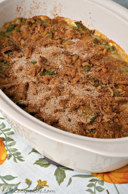 Cheesy Green Bean Casserole 3